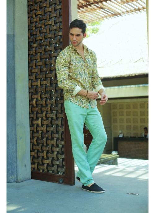Ocean Green Trousers