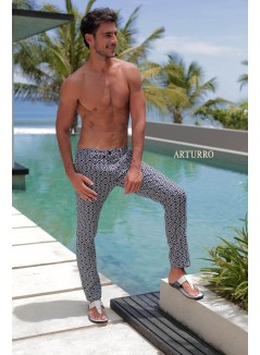Tribal Inspired Monocrom Trousers