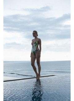 One-piece Printed Swimwear
